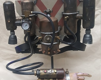 Steampunk Jet Pack- Steam Forged Studios Mark IV- 0314/Production Date 1899