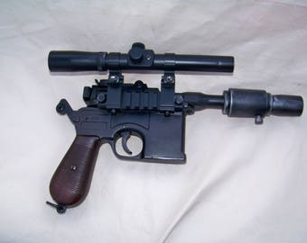 Blaster Inspired By Han Solo's DL-44