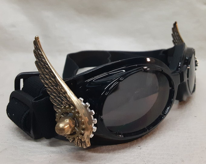 Small Steampunk Valkyrie Dog Goggles