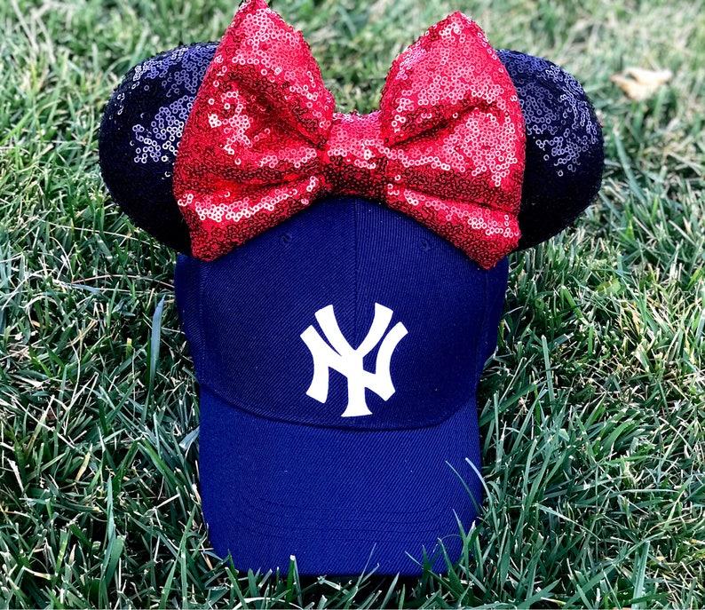 b0b4b6b506f New York Yankees Mickey Ears Hat Yankee Hat NY Hat Mickey