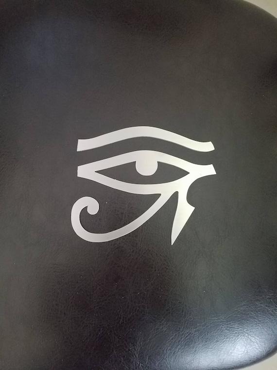 Egyptian Eye Metal Wall Art Eye Of Horus Symbol Of Health Etsy