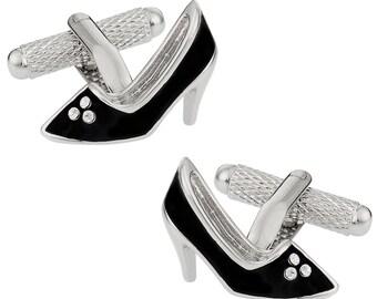 c61087b97722e Heels cufflinks | Etsy
