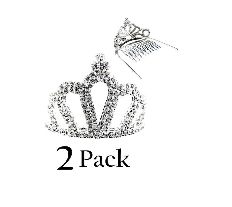 Mini Crown Costume Princess Tiara With Comb Wedding Jewelry Novelty Gift