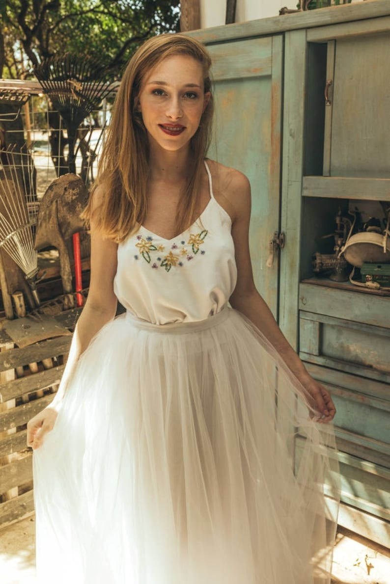 Mexican Embroidered Wedding Dresses