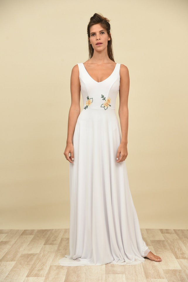 Crochet wedding dress needlework wedding dress lacery wedding | Etsy