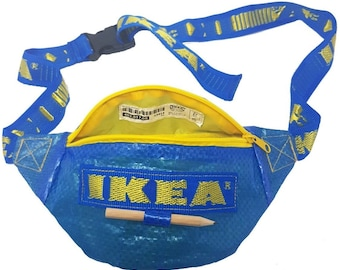 The IKEA Bumbag - Bag Holder Festival Urban Fashion Fanny Pack Streetwear Frakta Bag Dum Bag