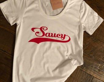 Saucy t-shirt top