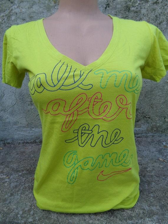 T-Shirt NIKE, Green T-Shirt NIKE
