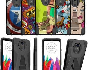LG Stylo 4 Kickstand Case [Comic Series]