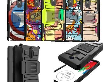 LG Stylo 4 Holster Case [Comic Series]