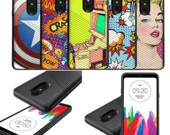 LG Stylo 4 Slim Case [Comic Series]