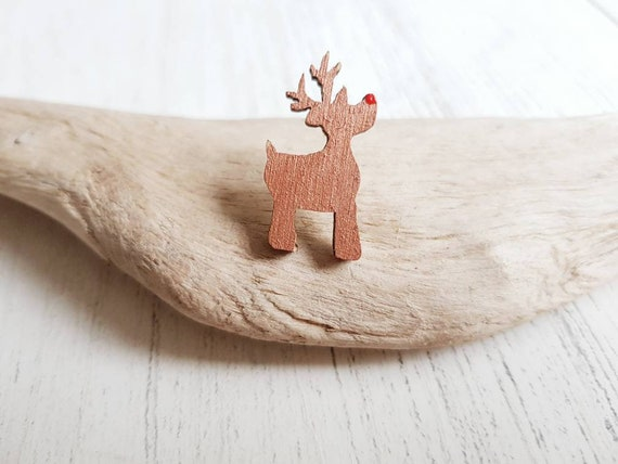 Christmas Rudolph Elk Brooches Full Crystal Gold Color Brooch Pins for  Girls Kids Party Gifts Girls Jewelry