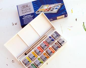 Mini Watercolour Travel Set