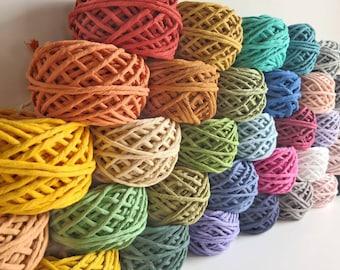 Coloured Macrame Cord