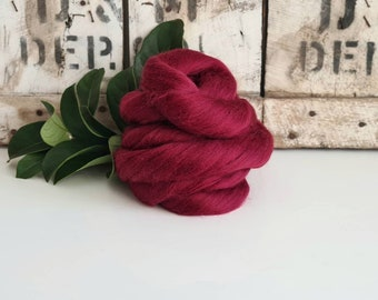 50g of Extra Fine Merino Wool Tops/Wool Roving || Soft Fruit || From DHG Shop Italy