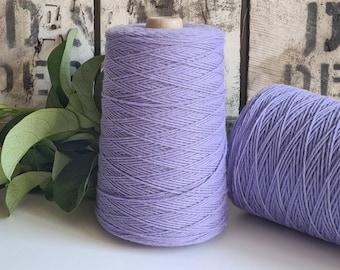 Lavender Coloured Crochet and Warp Cotton Cord || 500g || 1.5mm