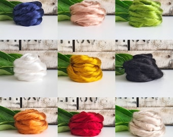 50g of Lyocell Tops /Roving    DHG Italy