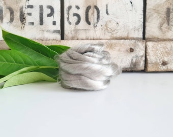 50g of Lyocell Tops /Roving || Cloud || DHG Italy