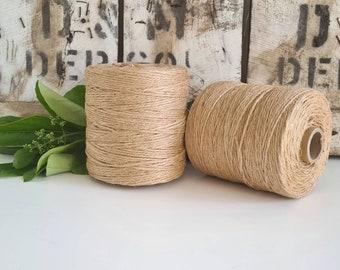 Jute Craft and Macrame Cord || Single Twist || 500g