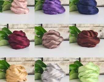 25g of Mulberry Silk Tops || A1 Grade || DHG Italy