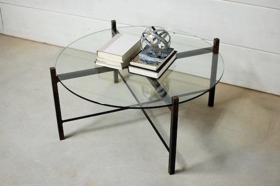 Round Glass Coffee Table, Coffee Table, Coffee Table Glass, Living Room  Furniture, Modern Furniture, Glass Table Top, Side Table, Glass
