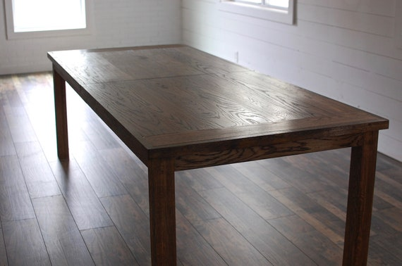 Wood Dining Table, Wood Furniture, Traditional Wood Dining Table, Kitchen  Table, Extension Dining Table, Reclaimed Wood Table, Oak Dining