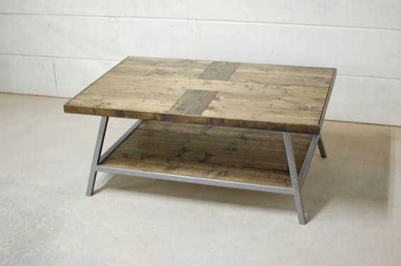 Modern Farmhouse Wood Coffee Table Living Room Furniture Etsy