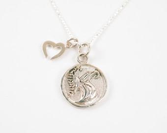 Transformation Necklace- Silver