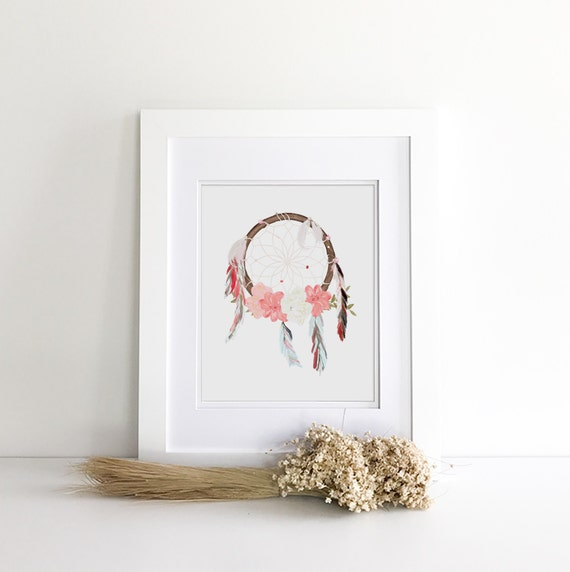 Boho Decor - Boho Dream Catcher - Boho Nursery - Boho Room Decor - Boho Baby - Boho Prints - Boho Baby Shower - Boho Baby Decor - Boho