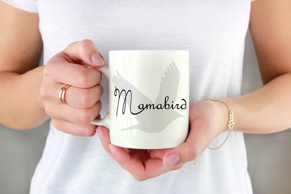 Mama Bear - Mugs With Sayings - Mama Bird - Mommy and Me - Mommy Coffee Mugs - Mother's Day Mug - Mommy needs Coffee - Mama Bird Mugs