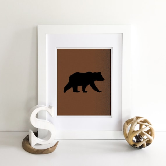 Mama Bear - Bear Print - Baby Bear - Little Bear - Bear Nursery Decor - Bear Nursery Print - Bear Family - Woodland Nursery Decor