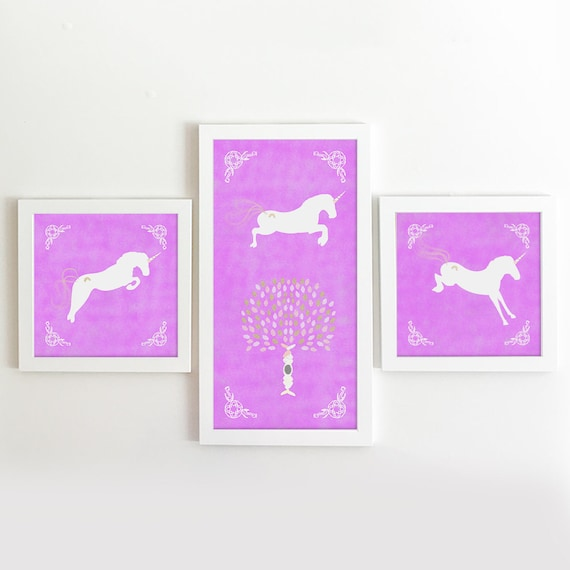 Unicorn Print - Unicorn Art - Unicorn Decor - Unicorn Art Print - Pegasus - Unicorn Baby Shower - Unicorn Nursery - Unicorn Canvas - Unicorn