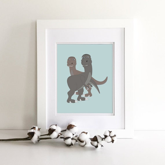 Dinosaur Decor - Rawr Means I Love You In Dinosaur - Dinosaur Nursery - Dinosaur Wall Decor - Dinosaur Baby Shower - Dinosaur Gifts - T-Rex