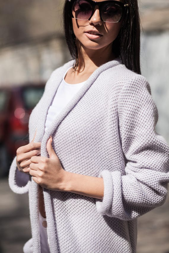 long coat cardigan women for women fashion oversize coat cardigan cardigan coat long knit Knit grey spring cardigan pocket grey cardigan TApTdw