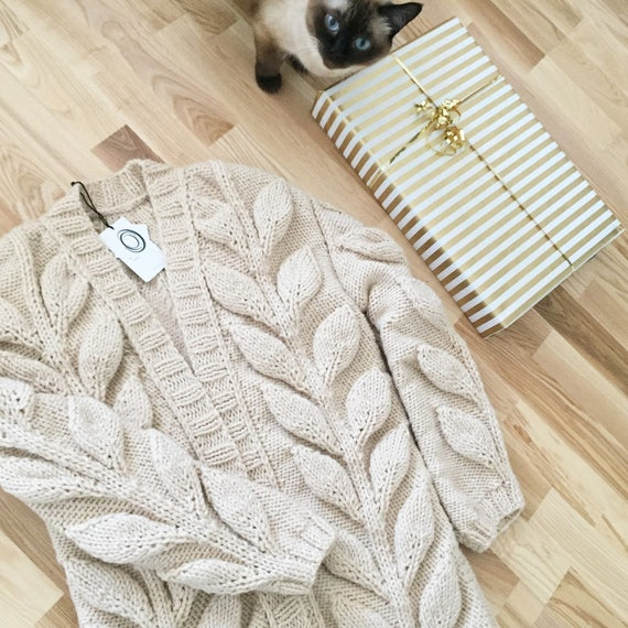 sweater spring chunky cardigan knit wool Cardigan women cardigan cable bulky knitted bohemian hand coat knitted oversized hand coat zwCFq6C