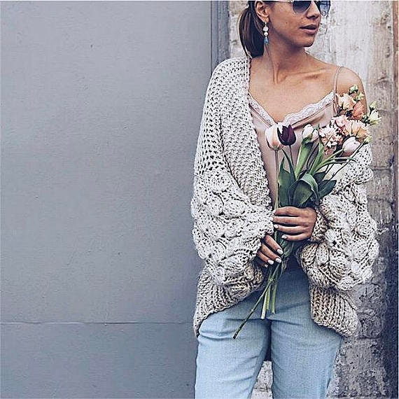 sweater Christmas knit beige cable plus sweater jacket sweater slouchy women knit cardigan gift clothing knitted size loose cardigan gift TwOfTqr4