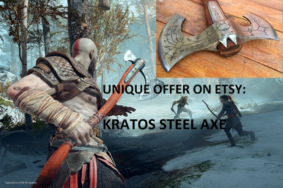 cosplay weapon costume weapon Kratos axe cosplay armor prop Kratos weapon Leviathan axe cosplay axe viking axe God of War replica