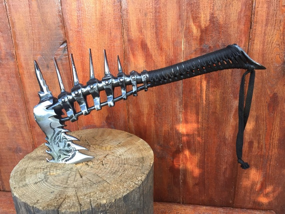 6th anniversary alien skeleton iron gifts medieval Axe tomahawk mens gifts handyman tool viking axe viking hatchet viking gifts