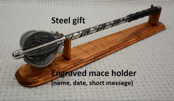 mens gift Stainless steel mace stainless steel gift