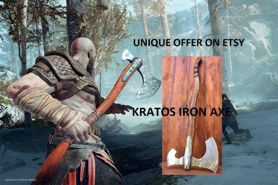 Leviathan Axe God Of War Axe Kratos Axe Cosplay Prop Games Replica Mens Gift Groomsman Gift Iron Gifts Viking Axe Cosplay Props