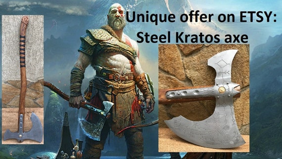 Leviathan Axe Viking Axe God Of War Kratos Axe Cosplay Armor Cosplay Axe Prop Replica Kratos Weapon Cosplay Weapon Costume Weapon