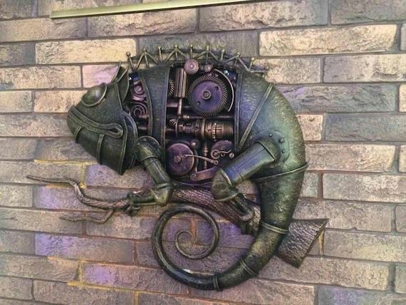 Steampunk Metal Sculpture Junk Art, Steam Punk Furniture