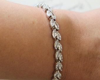 Art Deco Bracelet, Vintage style crystal bracelet, Bridal Bracelet,   Gatsby bracelet, Wedding bracelet, Bridal Jewelry, Wedding Jewelry, UK