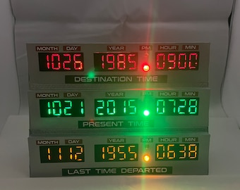 Time Circuits Back to the future Mini replica with sounds