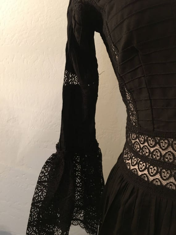 Vintage Mexican Maxi Dress - image 5