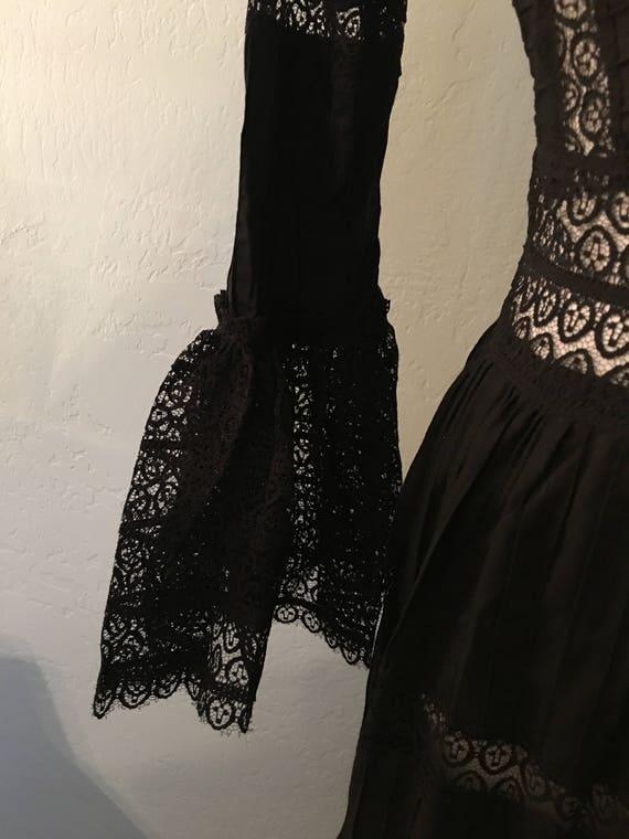 Vintage Mexican Maxi Dress - image 4
