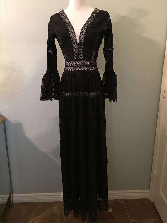Vintage Mexican Maxi Dress - image 1