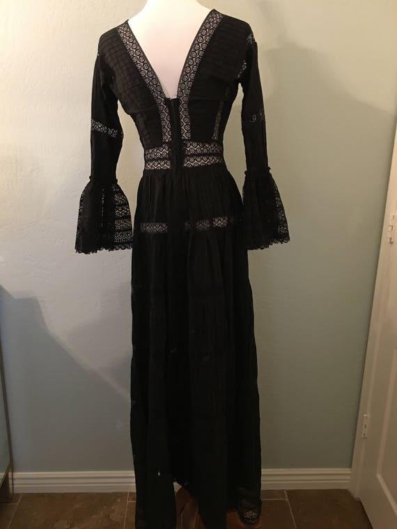 Vintage Mexican Maxi Dress - image 6