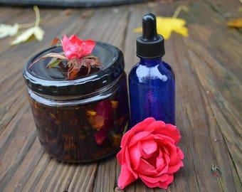 Rose infused Olive Oil
