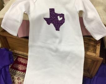 Heart of Texas Onesie/Layette